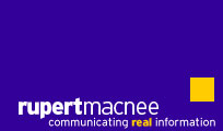 rupert macnee - communicating real information